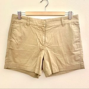 J. Crew Stretch Classic Khaki Chino Shorts
